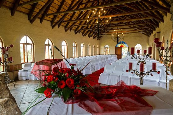 Bundu Lodge: Chapel inside