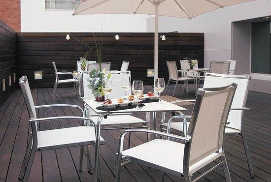 NH Collection Ria de Bilbao : Terrace