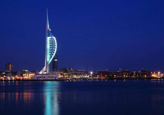Duke Of Buckingham: Local Attraction Spinnaker Tower - can be viewed from some of our rooms on the top floor