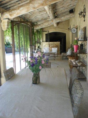 Bastidons des Anges: Côté patio