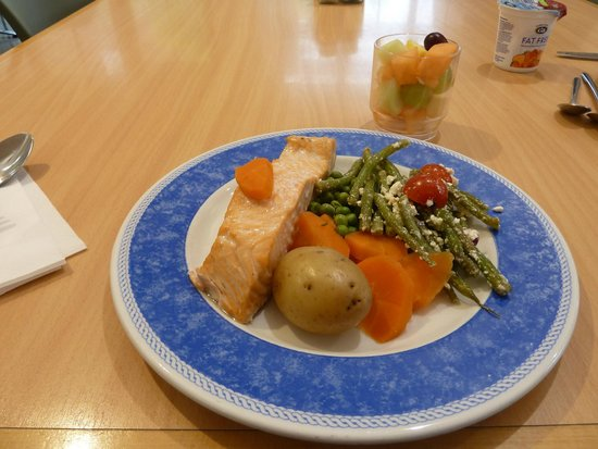 Shrine of Our Lady of Walsingham: Refectory - healthy and tasty meals