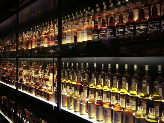 The Scotch Whisky Experience: Just a very very small part of a very very large collection