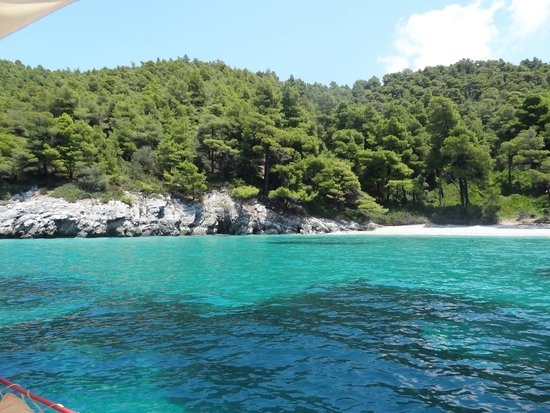 Sail the Day - Skiathos Sailing Trips: azure Aegean