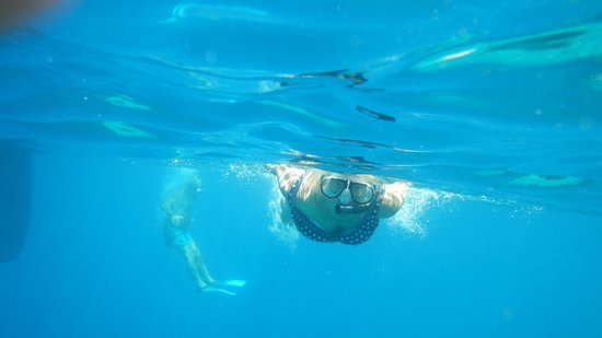 Sail the Day - Skiathos Sailing Trips: snorkelling in the blue
