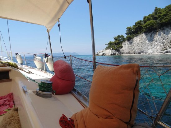 Sail the Day - Skiathos Sailing Trips: time for thinking