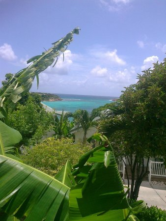 The Verandah Resort & Spa : View from verandah of room 219