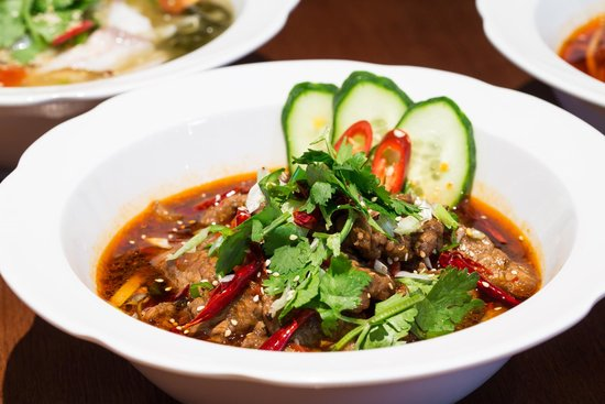 Sichuan hot and sour soup - Foto di Chinese Cricket Club, Londra ...