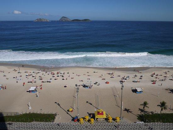 Sol Ipanema Hotel: Вид из окна номера