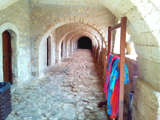 Sacred Monastery of Arkadi : Галлерая внутри монастыря