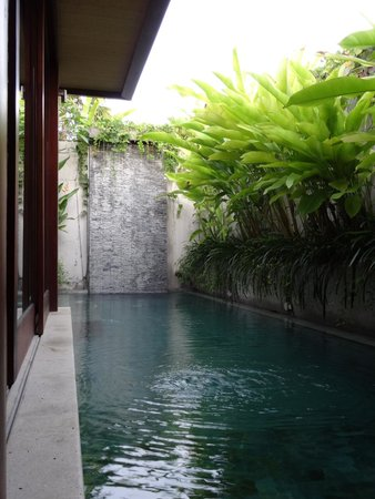 Maca Villas & Spa: Private pool