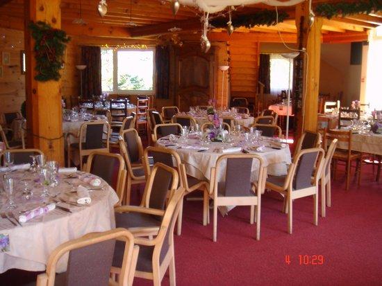 Hotel Cartusia : salle restaurant