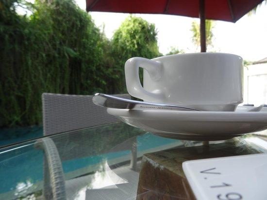 Maca Villas & Spa: Excellent al fresco dining