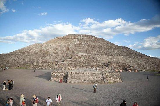 Pyramid of the Sun: пирамиды