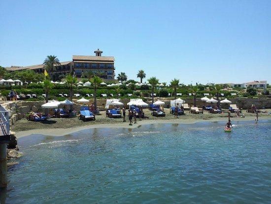 Elysium Hotel: Private beach.