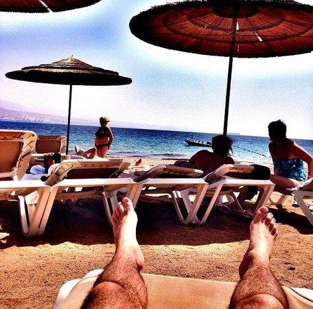 U Coral Beach Club Eilat: This is life
