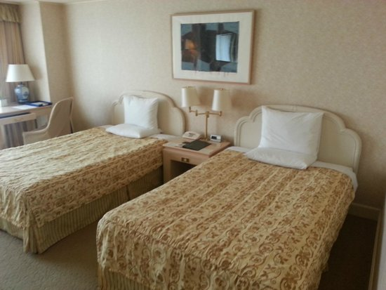 InterContinental  Yokohama Grand: Rooms are very spacious