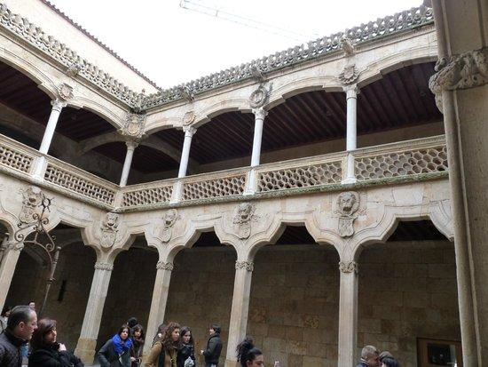 Inside Casa de las Conchas