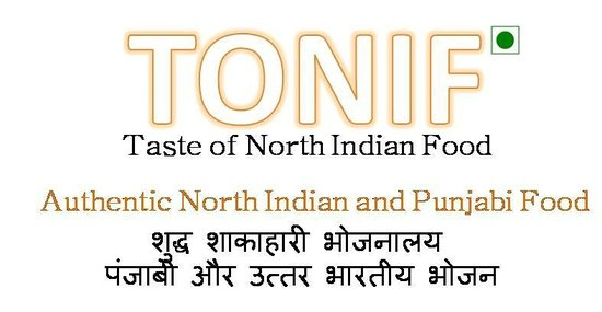 ToniF (Taste of North Indian Food)