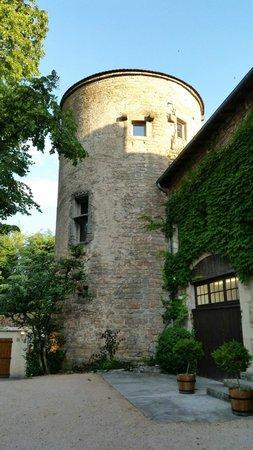 Château d'Igé : la torre della suite