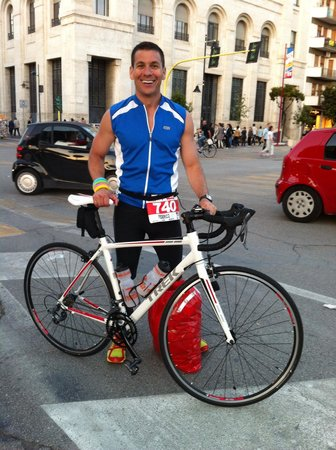 Finisher in the Ironman Italy 2014 on the Trek 1.1 bike from Active Abruzzo