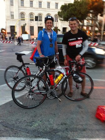 Active Abruzzo: Successful clients completing Italy Ironman 70.3