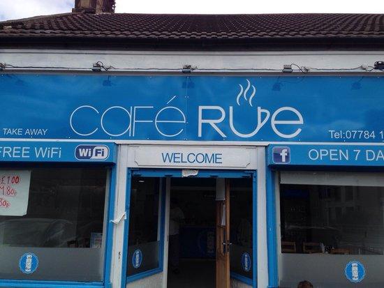 Cafe Rue: Front of Cafe.