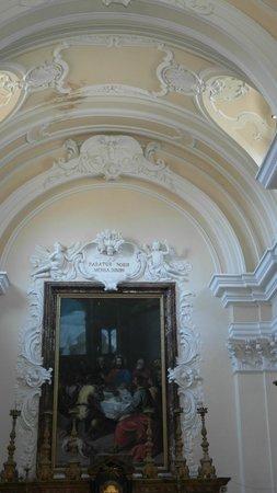 Gradara, Italie : interno