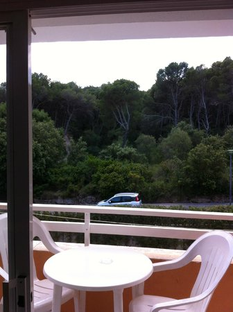 Canyamel Gardens - lovely view from room of Pine Forest - so nice & quiet!