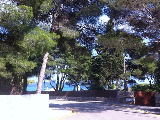 Canyamel Garden: Canyamel - road down to beach from apartments