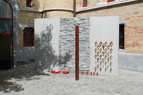 Poperinge Town Hall Death Cell : Execution Area