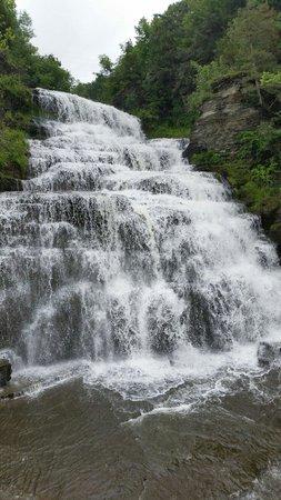 Hector Falls, Hector, NY: Waterfall