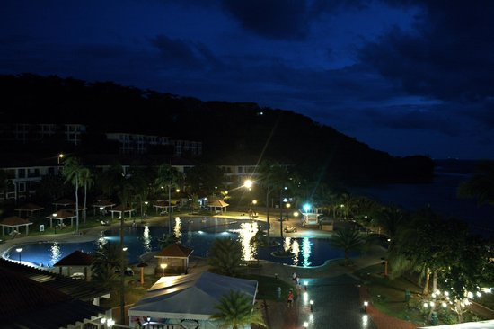 Canyon Cove Hotel & Spa : Canyon Cove at night, view from our balcony