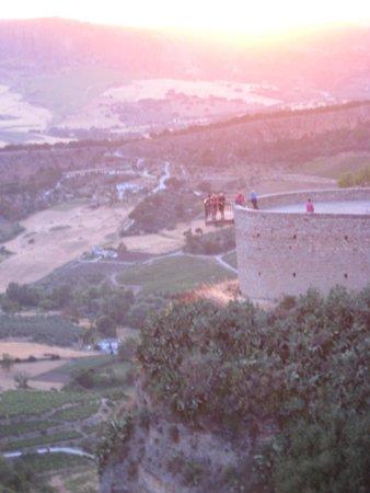 Parador de Ronda: View from room balcony