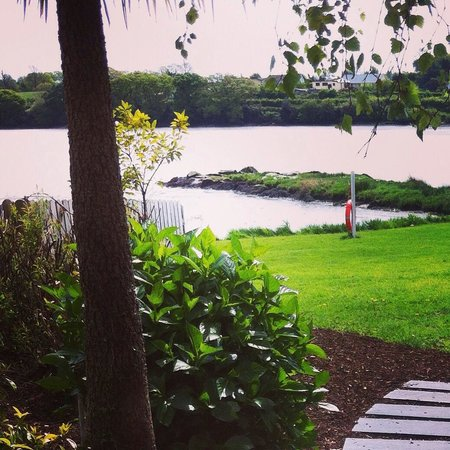Ferrycarrig Hotel: Waterside view