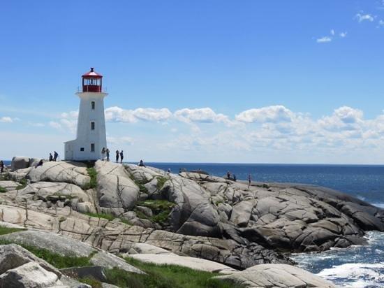 Peggy's Cove Lighthouse : phare