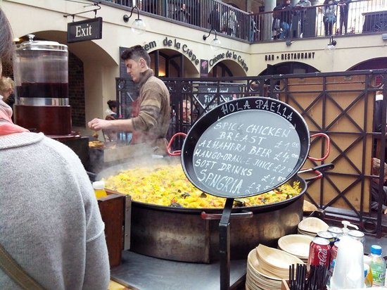 Covent Garden : Hola Paella!