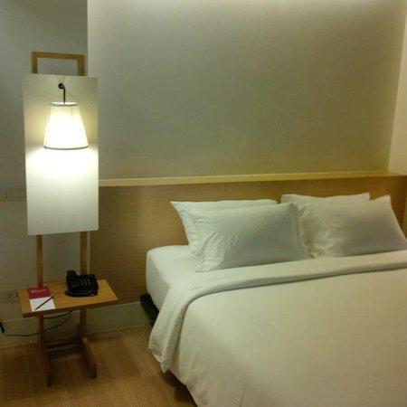Trinity Silom Hotel : Double bed