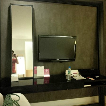 Trinity Silom Hotel : The room