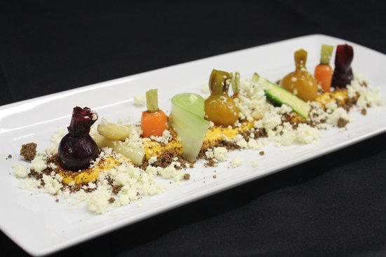 Mimi's Restaurant: Winter vegetable garden, wattle seed soil, baby vegetables, radish, cucumber, asparagus,