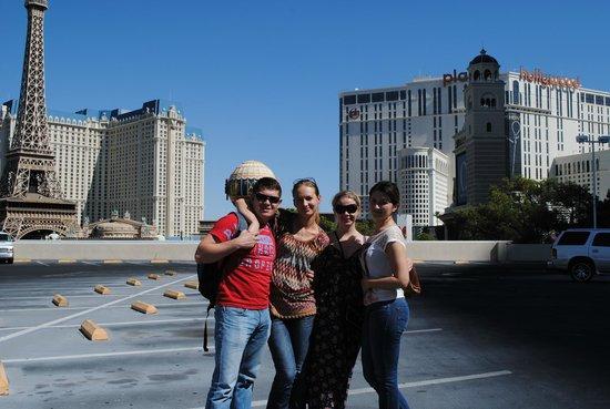 Circus Circus Hotel & Casino Las Vegas : неподалёку (на крыше Беладжио)