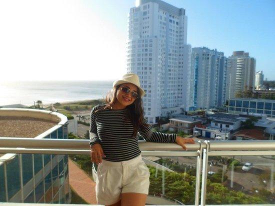 Conrad Punta del Este Resort & Casino: Queria eu ainda está lá com todo atendimento Vip do Hotel Conrad. A vista do quarto á dá pra ter