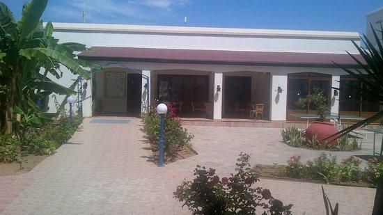 Helios Bay Hotel : Rear Of Reception