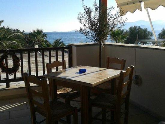 Nostimies of Naxos: wonderful view of Aegean sea