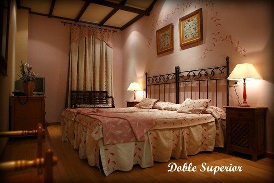 Balneario San Andres: Habitación Doble superior