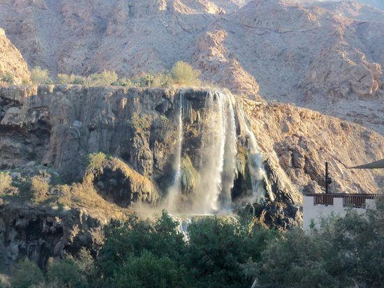 Ma'In Hot Springs : Another Fall