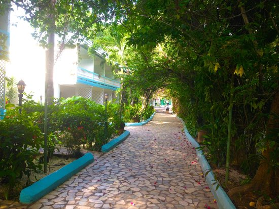 Legends Beach Hotel: Hotel grounds