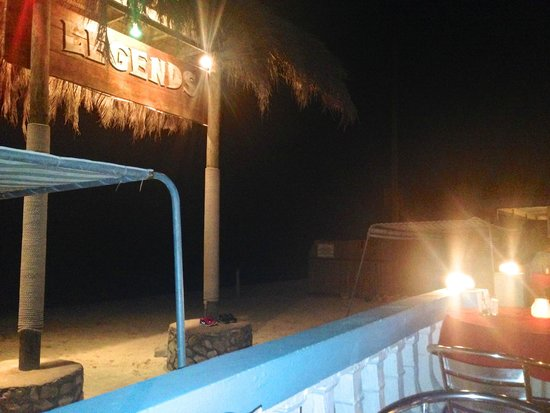Legends Beach Hotel: Resort at the evening