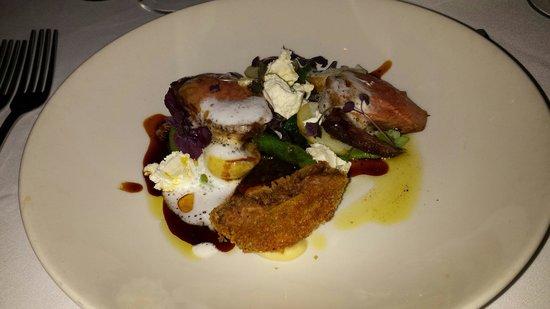 Buskers Restaurant : Lamb dish