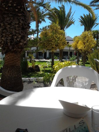 LABRANDA Playa Club: view from garden apartment balcony