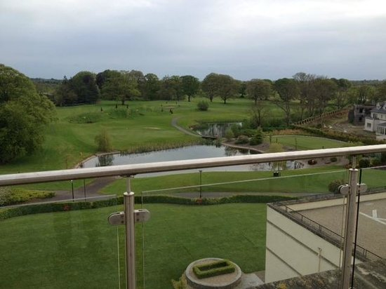 Knightsbrook Hotel & Golf Resort : View from balcony